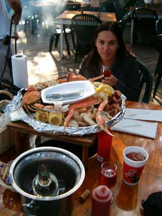 Feasting at The Crab Shack